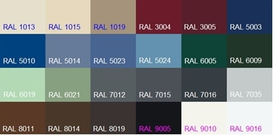 Ral for Fenetre 7035